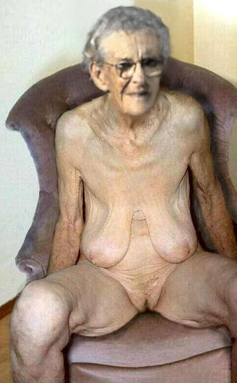 Very old nude grannies fucking